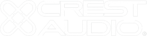 Crest Audio Logo White