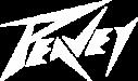Peavey logo white
